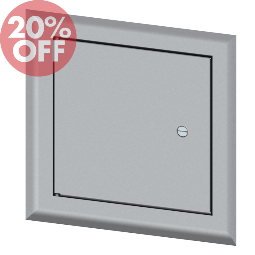 Elmdor Access Doors : Lightweight aluminum insulated access door elmdor ai