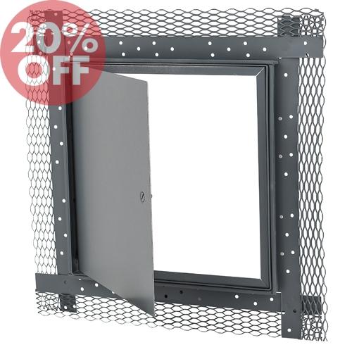 Elmdor Access Doors : Metal lath access door elmdor ml accessdoorssupply